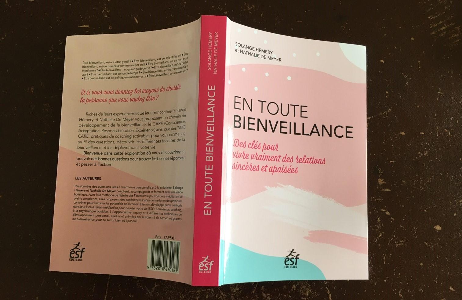 Le livre « En toute bienveillance – Des clés pour vivre vraiment des relations sincères et apaisées »